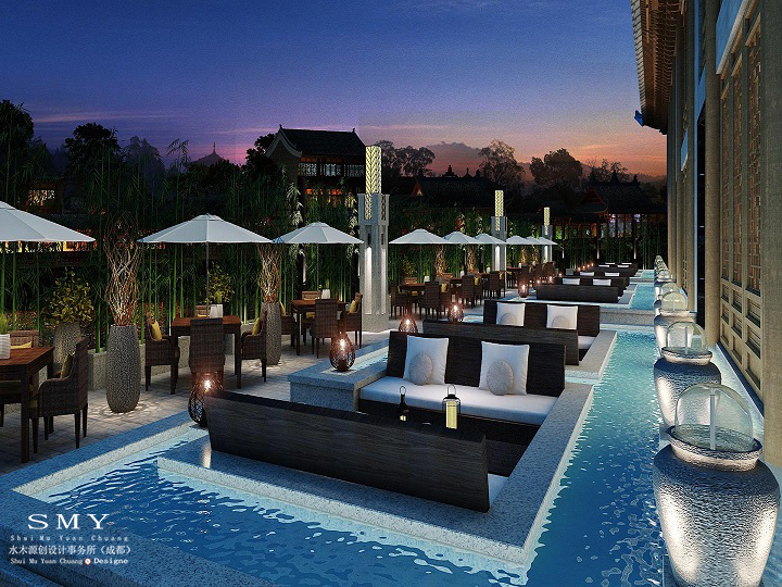 绵阳主题酒店装修设计流行的颜色-水木源创