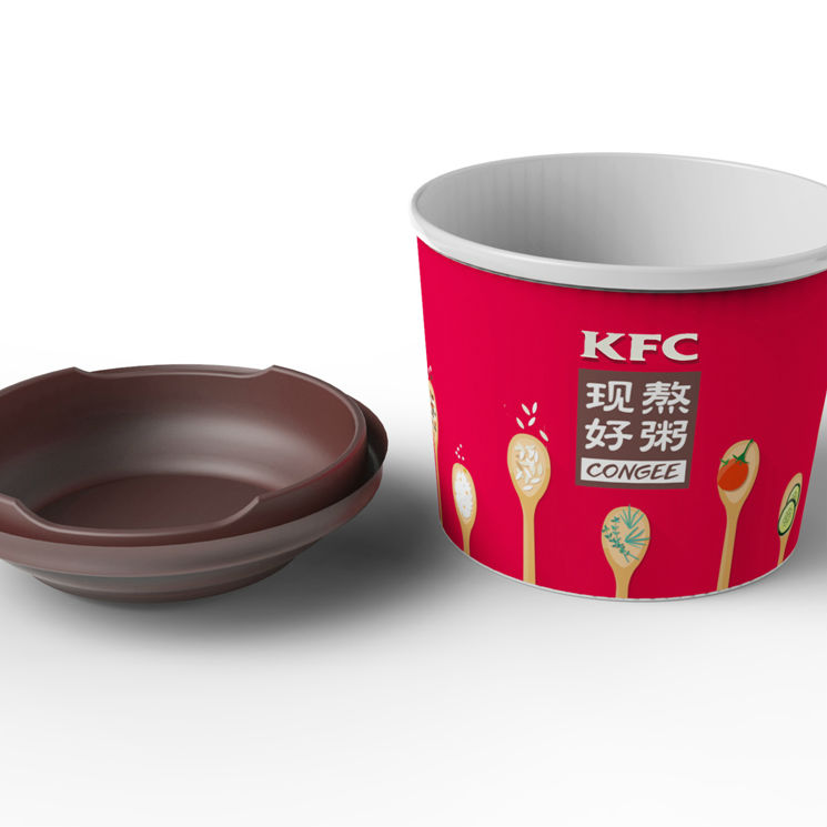 肯德基粥碗改良设计
