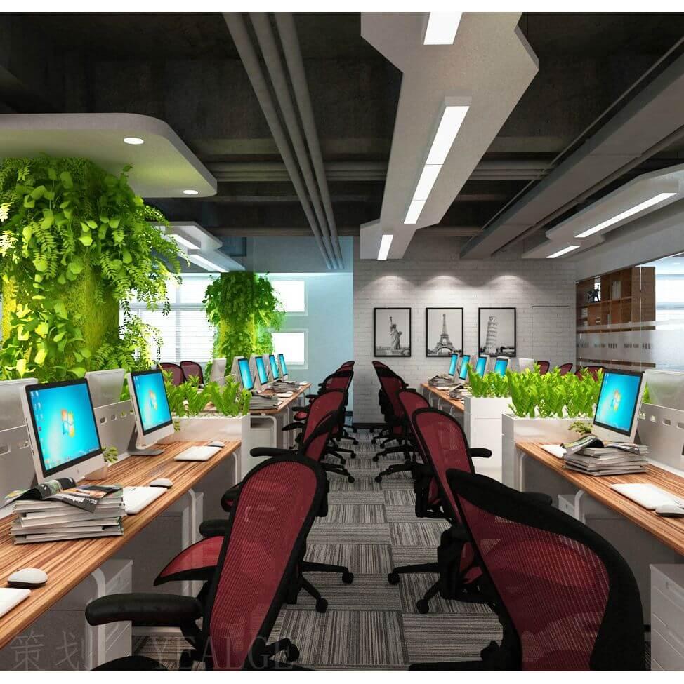 广州办公室设计哪家好 广州办公室设计案例 广州办公楼设计