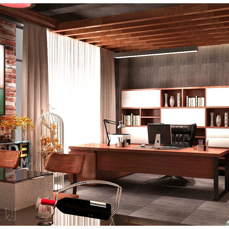 主题办公空间设计 高档办公空间设计 多层办公空间设计