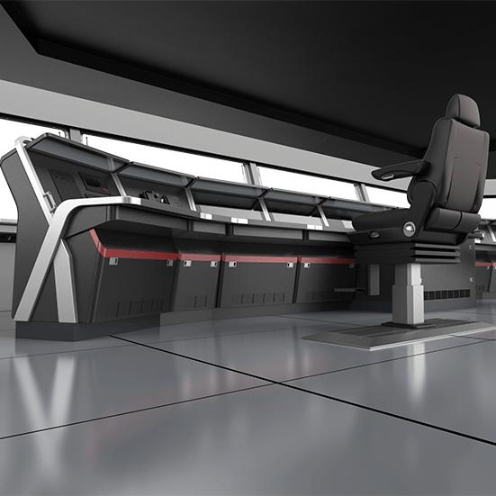 船用琴式控制台