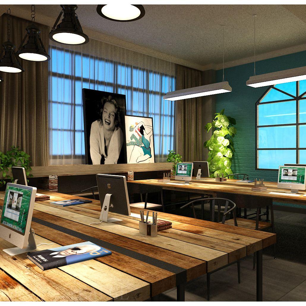 服装公司办公室设计方案 办公室设计效果 办公室设计公司