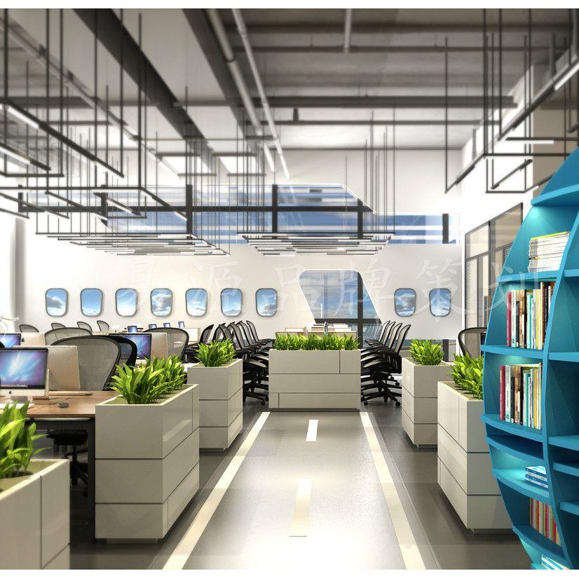 汽车公司办公空间设计公司|汽车公司办公空间设计效果图