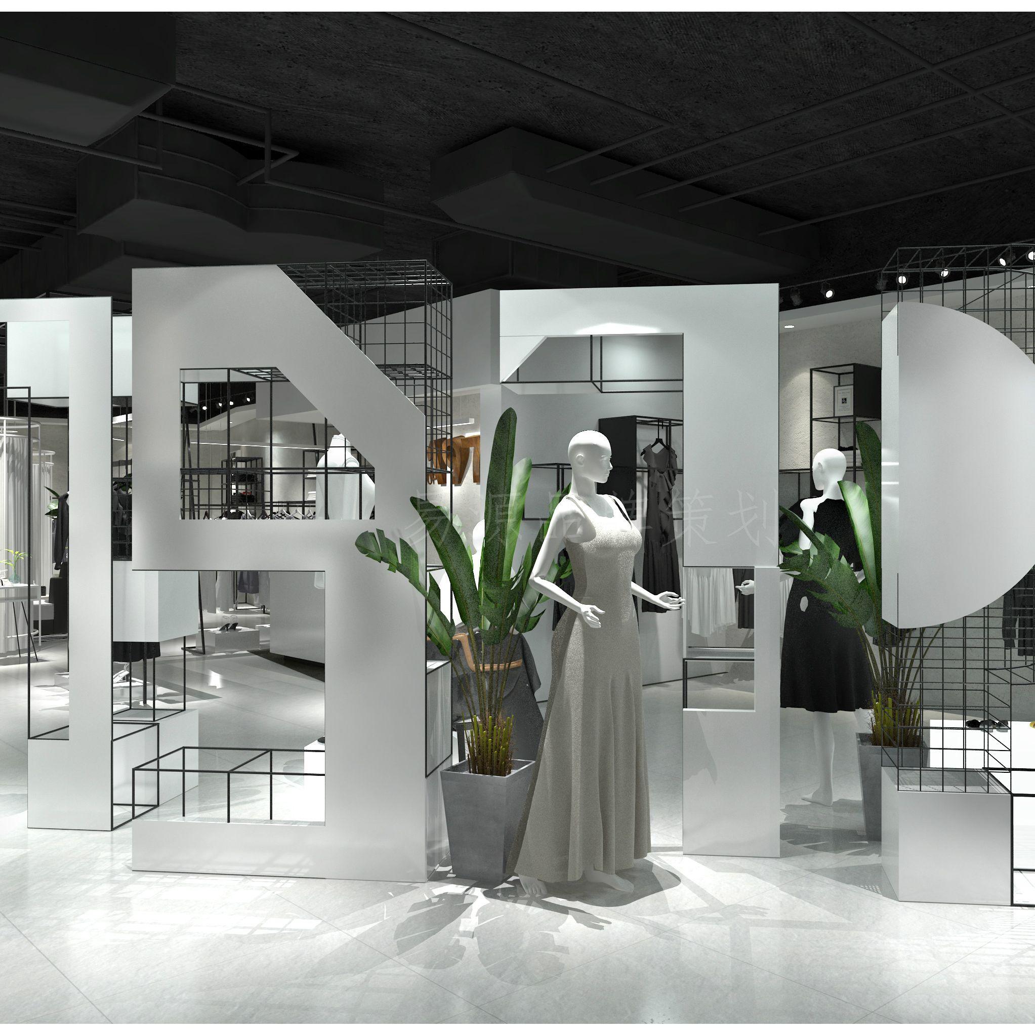 shop 1972女装工装设计|shop 1972工装设计
