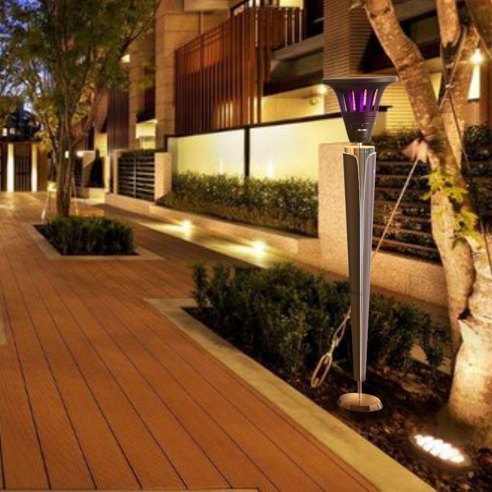 公共街区灭蚊灯设计