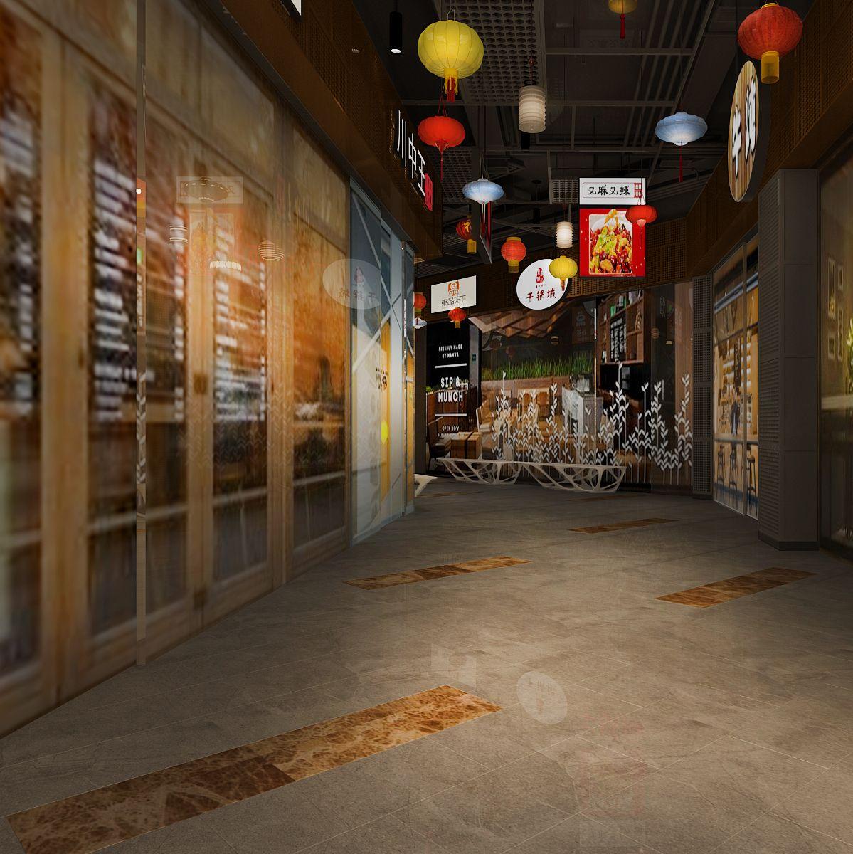 安泰国际广场美食街设计项目