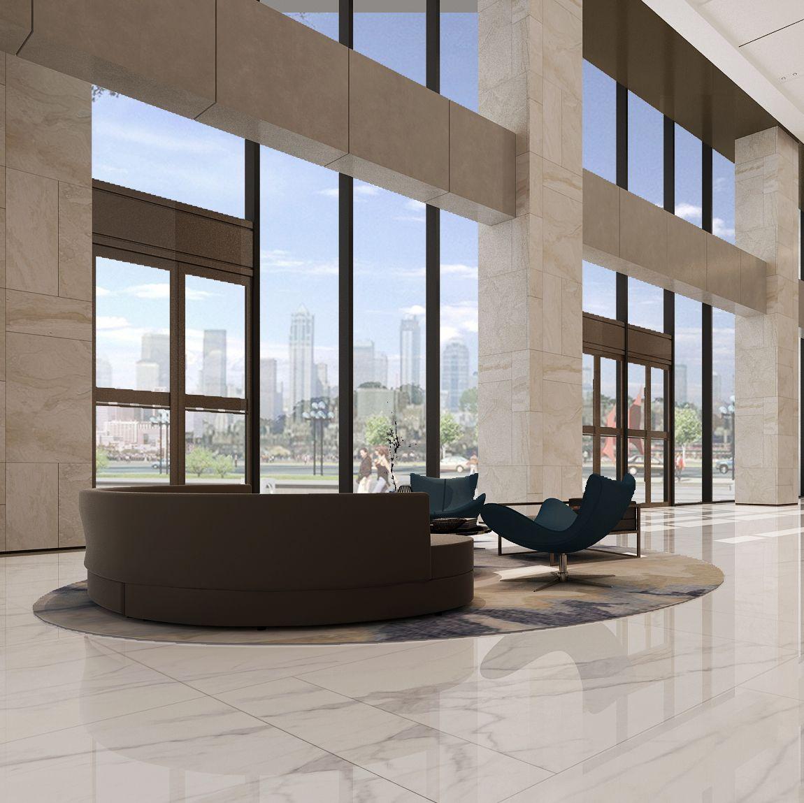安泰国际广场2#大堂设计项目