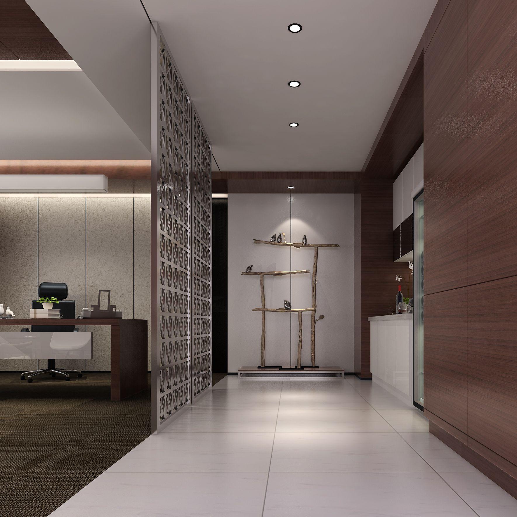 山东甬南进出口有限公司办公空间设计项目