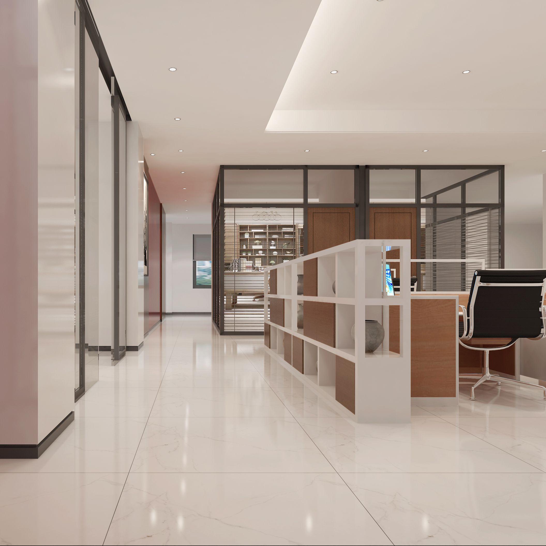荣信投资控股有限公司办公空间设计