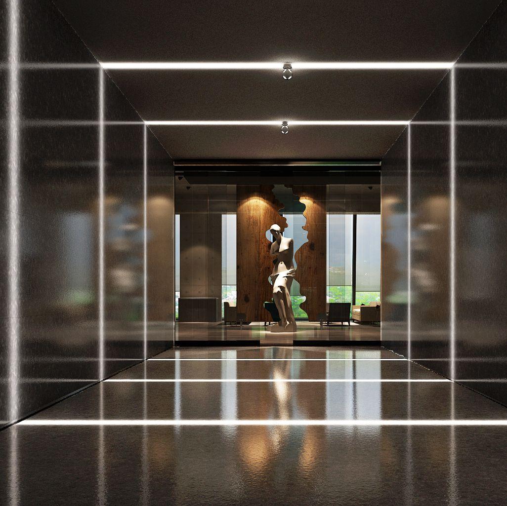 安泰国际广场44层艺术办公设计项目