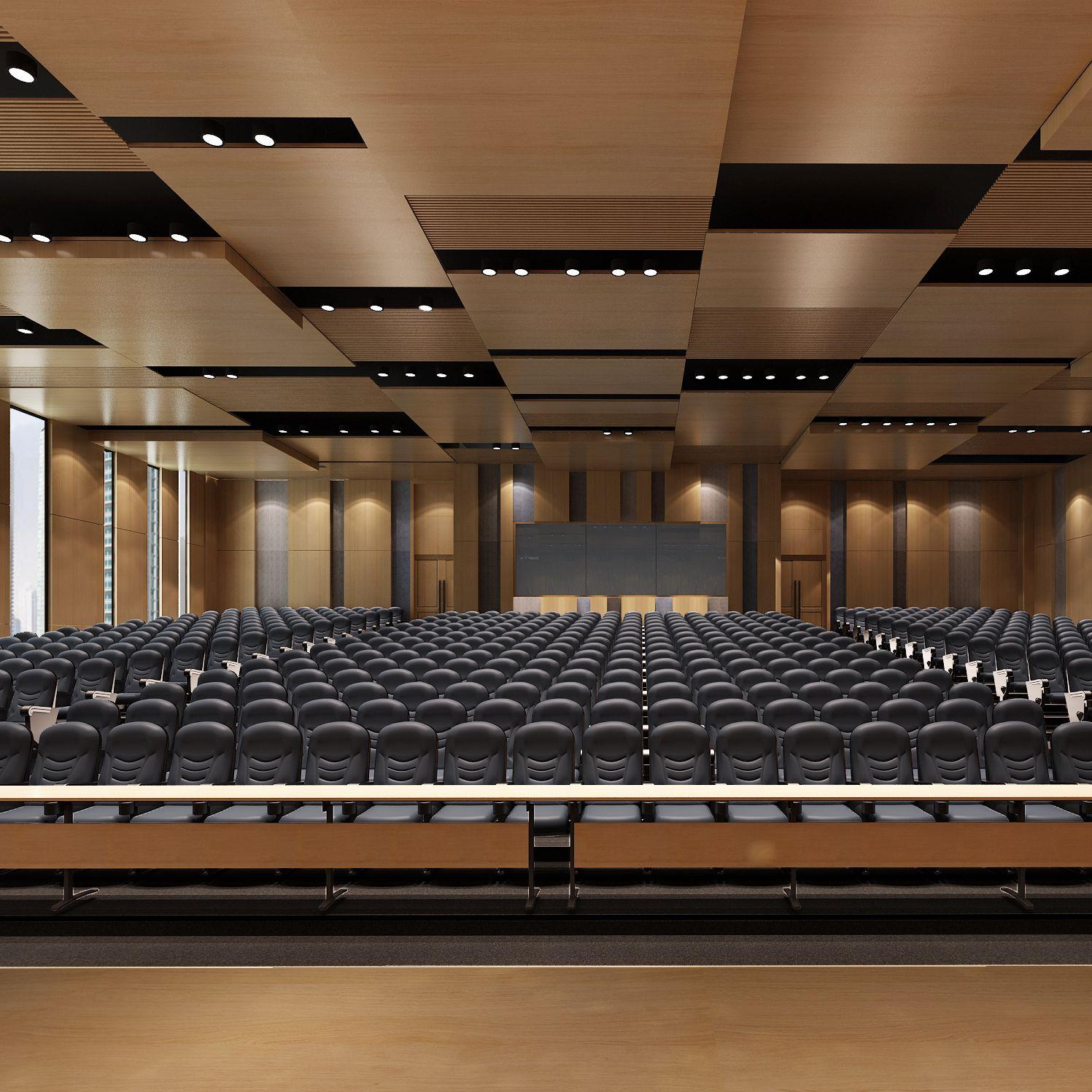日照职业技术学院图书馆报告厅设计项目