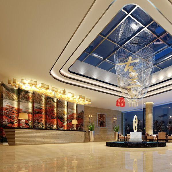 乐山酒店大堂如何打造才更具吸睛点?--- 乐山酒店设计