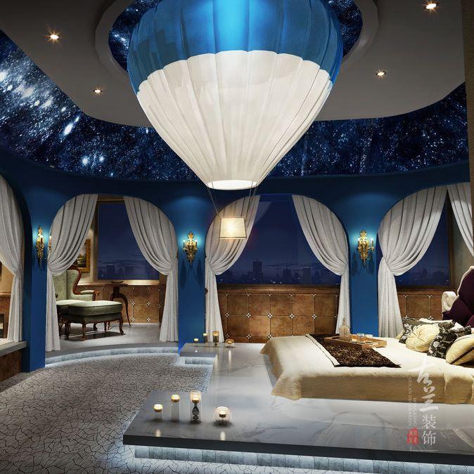 泸州酒店设计|泸州热气球精品主题酒店设计作品