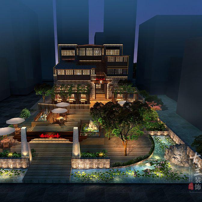 汶川酒店设计-汶川羌文化主题客栈-汶川设计