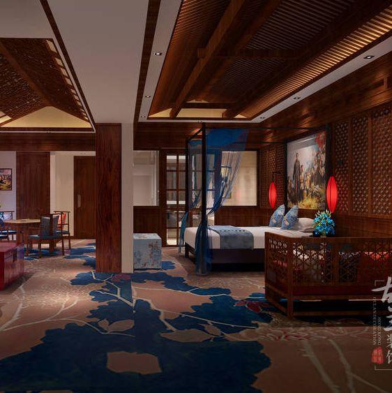 泸定酒店设计-泸定烹坝十里香酒店-泸定设计