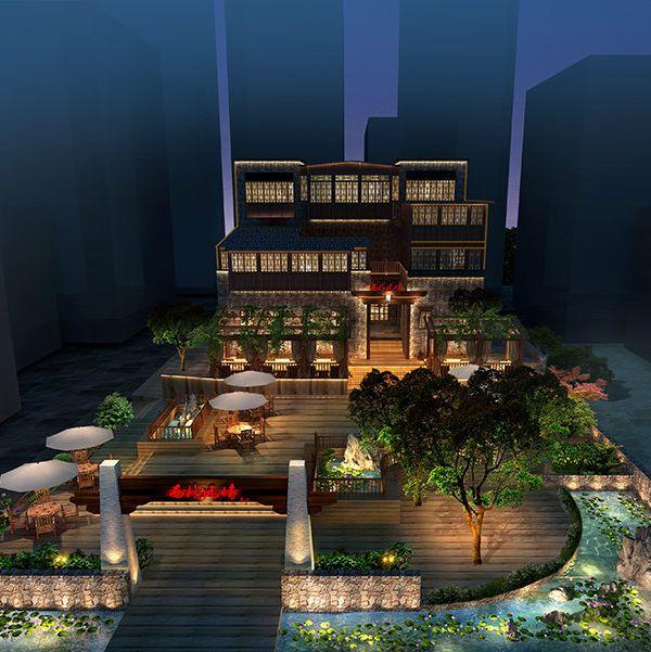 汶川酒店设计案例|羌文化主题客栈