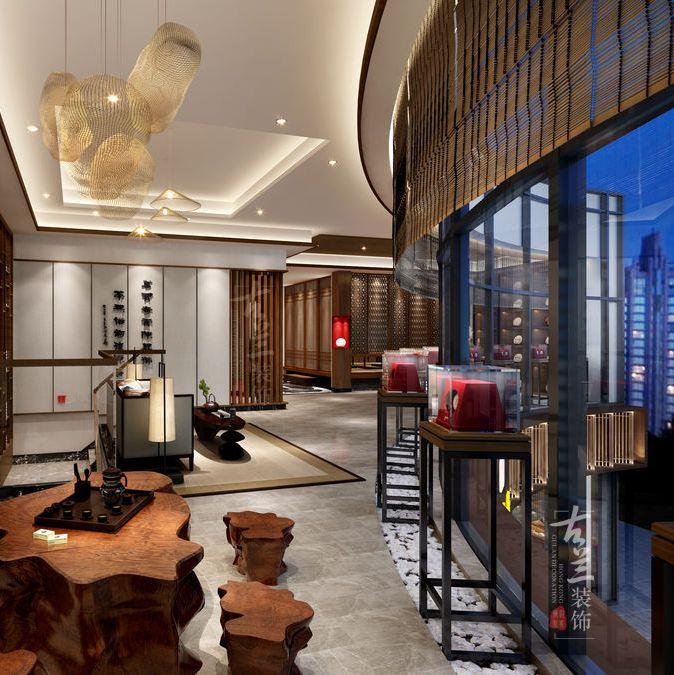 青岛茶楼设计公司|陈升号茶楼案例
