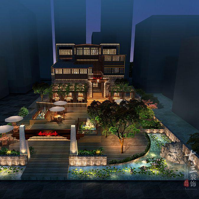 汶川酒店设计-汶川羌文化主题客栈-设计