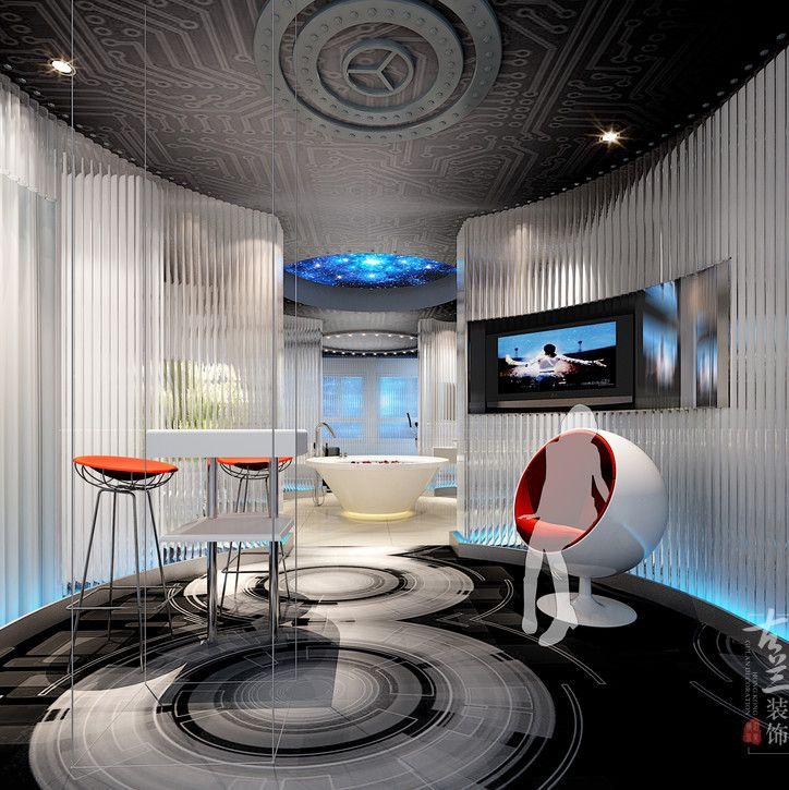 德阳主题酒店设计公司   交集线主题酒店设计案例