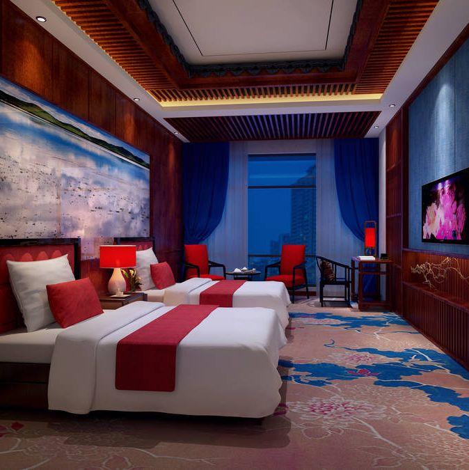 德阳酒店设计公司   烹坝十里香酒店