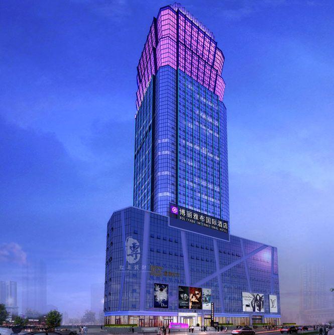 青海酒店设计公司|青海酒店装修效果图|青海主题酒店设计