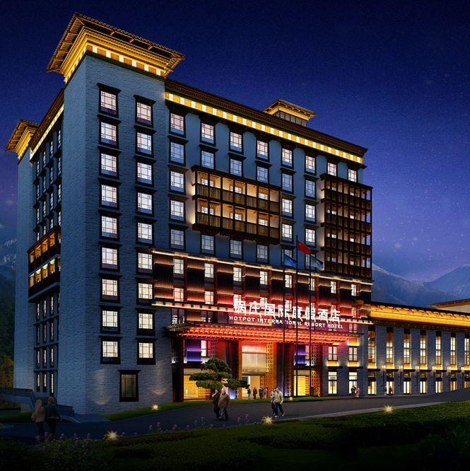 康定酒店设计,康定度假酒店设计