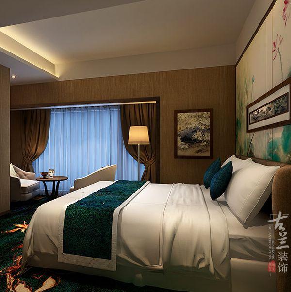 四川特色商务酒店施工|田园式酒店装饰风格