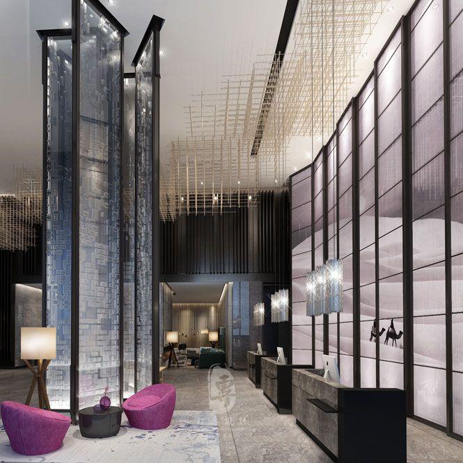 阿坝酒店装修公司|风尚世贸国际大酒店设计案例