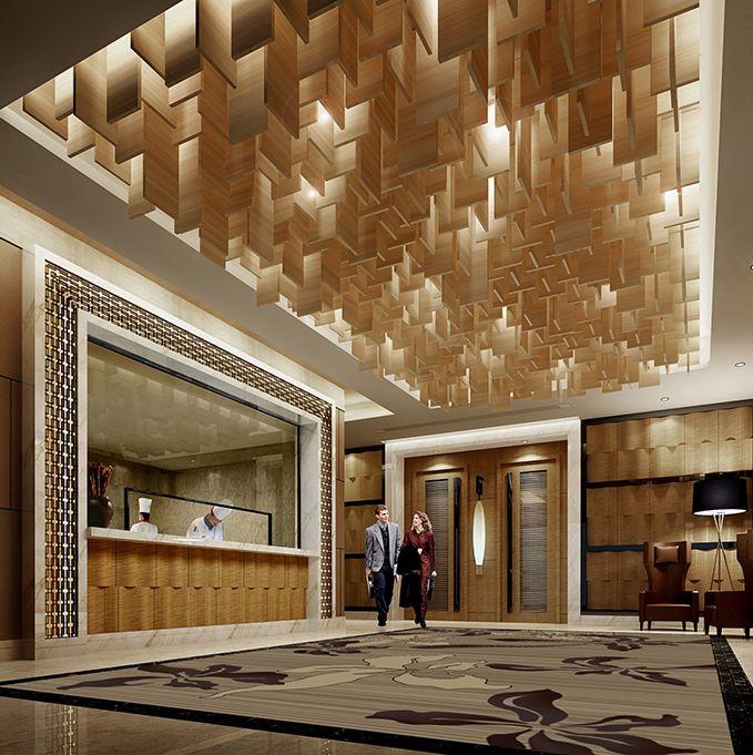 眉山酒店设计-金碧国际假日酒店