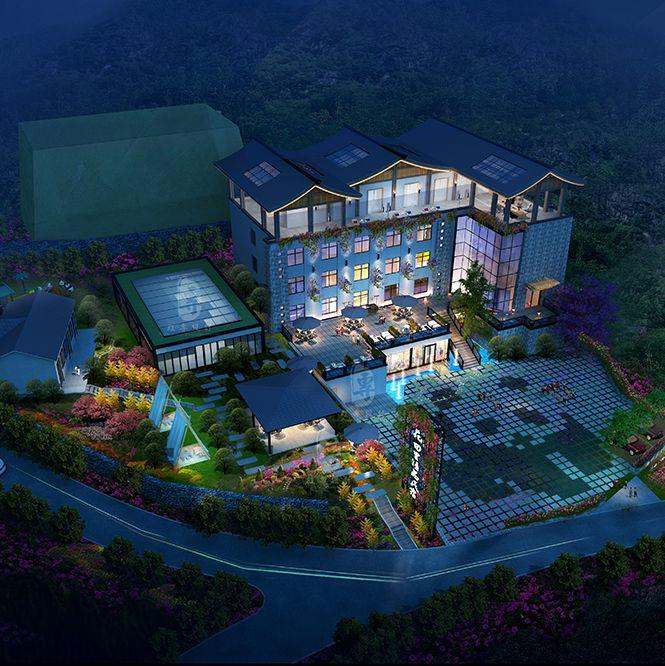 上海民俗酒店设计公司|花田里精品民宿酒店设计