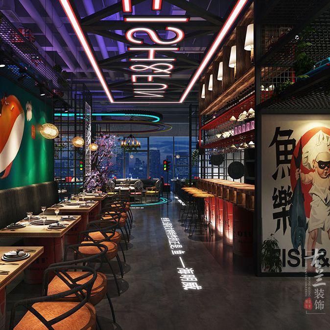 花园餐厅设计 餐饮空间设计有几个注意要点?