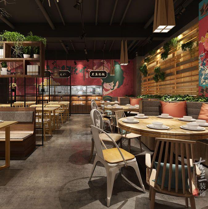 广安餐厅装修如何规划软装部分