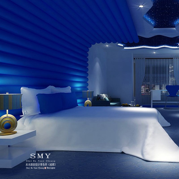 德阳酒店设计公司SMY情侣度假酒店的生态空间构造