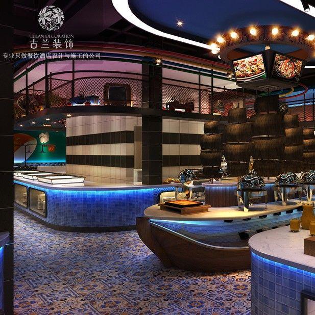 成都自助餐厅设计_餐饮企业店面装饰设计的程序步骤