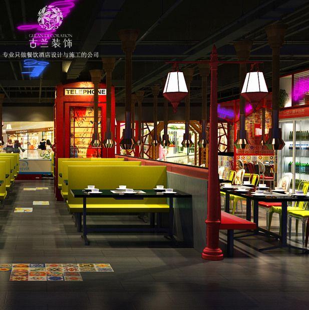 成都特色自助餐厅装修_餐厅如何规划装修才显特色
