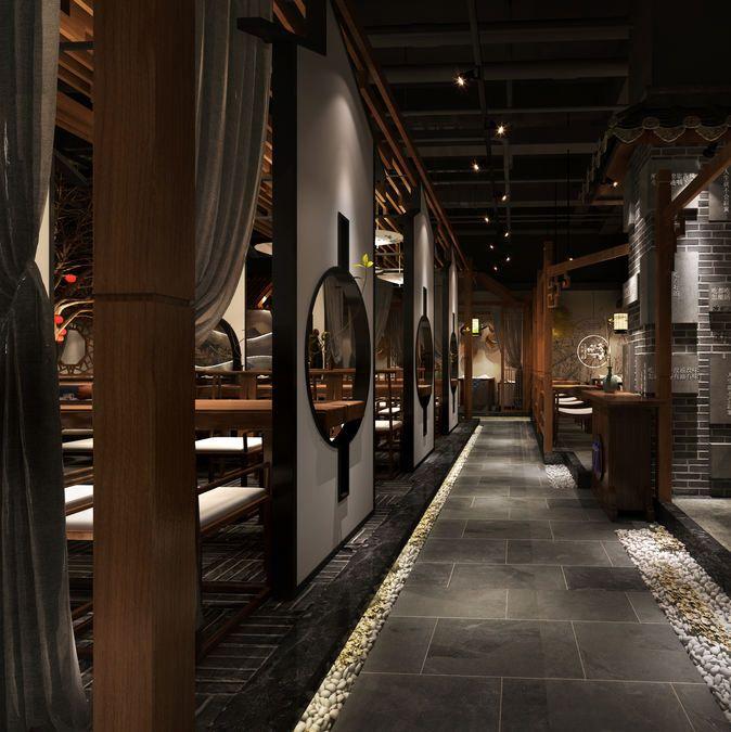 成都专业餐厅设计公司-一家风格超美的中餐厅设计