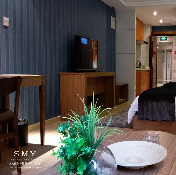绵阳酒店装饰装修工程设计案例-水木源创