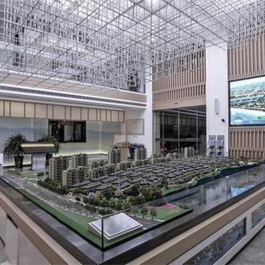 安泰悦湖湾售楼处设计项目