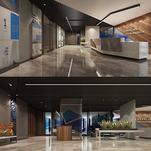 山东乐余实业有限公司办公空间设计