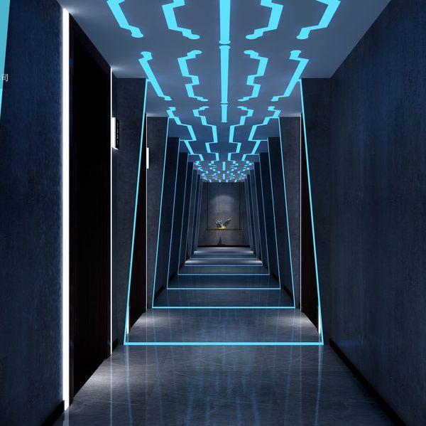 电竞主题酒店设计装修|成都电竞酒店设计公司