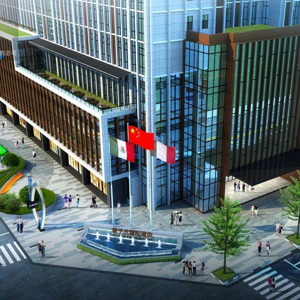 君子兰国际大酒店设计案例-成都酒店设计公司