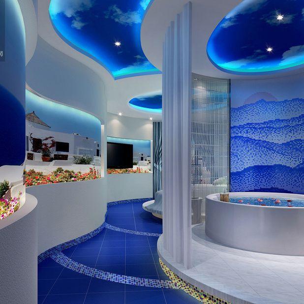 成都酒店设计公司-爱情海主题酒店设计案例