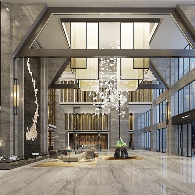 宜宾酒店设计走廊小细节水木源创设计