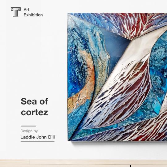 竹子建站网站模板—艺术展览网站模板