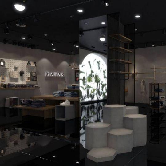 成都专业服装店设计公司——MATAS 服装店