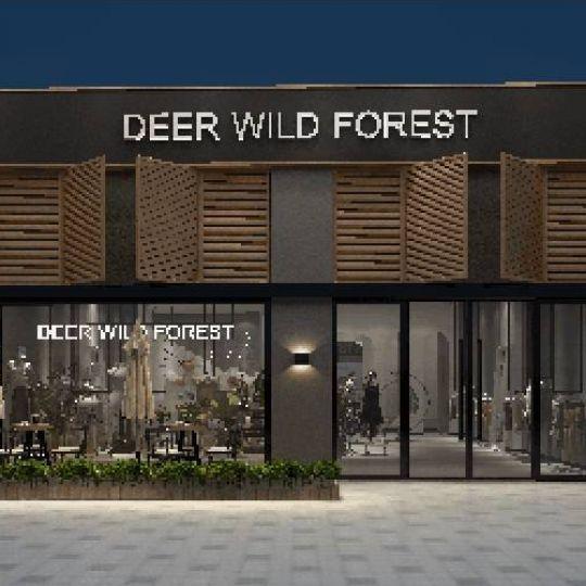 成都服装店设计——DEER WILD FOREST服装店