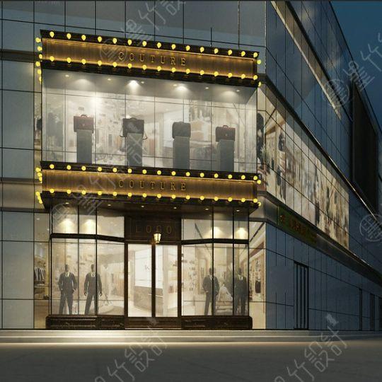 成都服装店设计公司——GOUTURE服装店