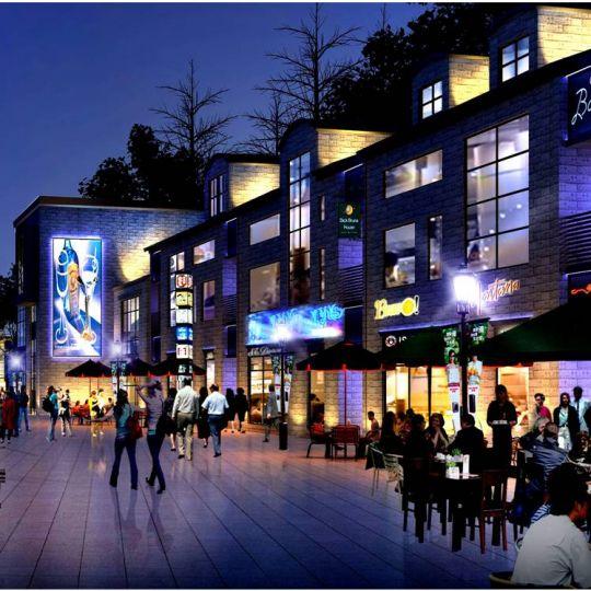 L&HP照明设计 徐州沁水湾照明概念设计案例