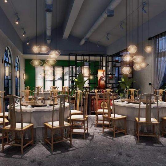 成都花园餐厅装修公司——水木青院花园餐厅