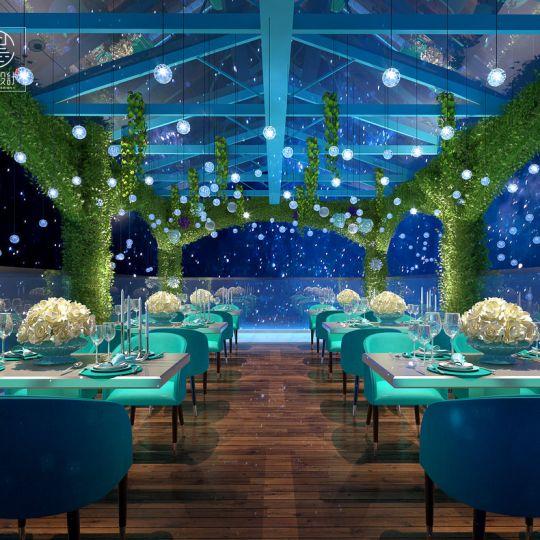 成都海鲜餐厅装修——巡游记·北国の主题海鲜餐厅